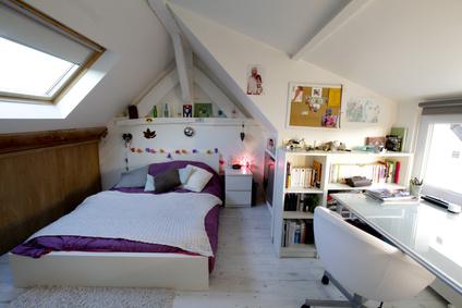 ロフト 屋根裏部屋